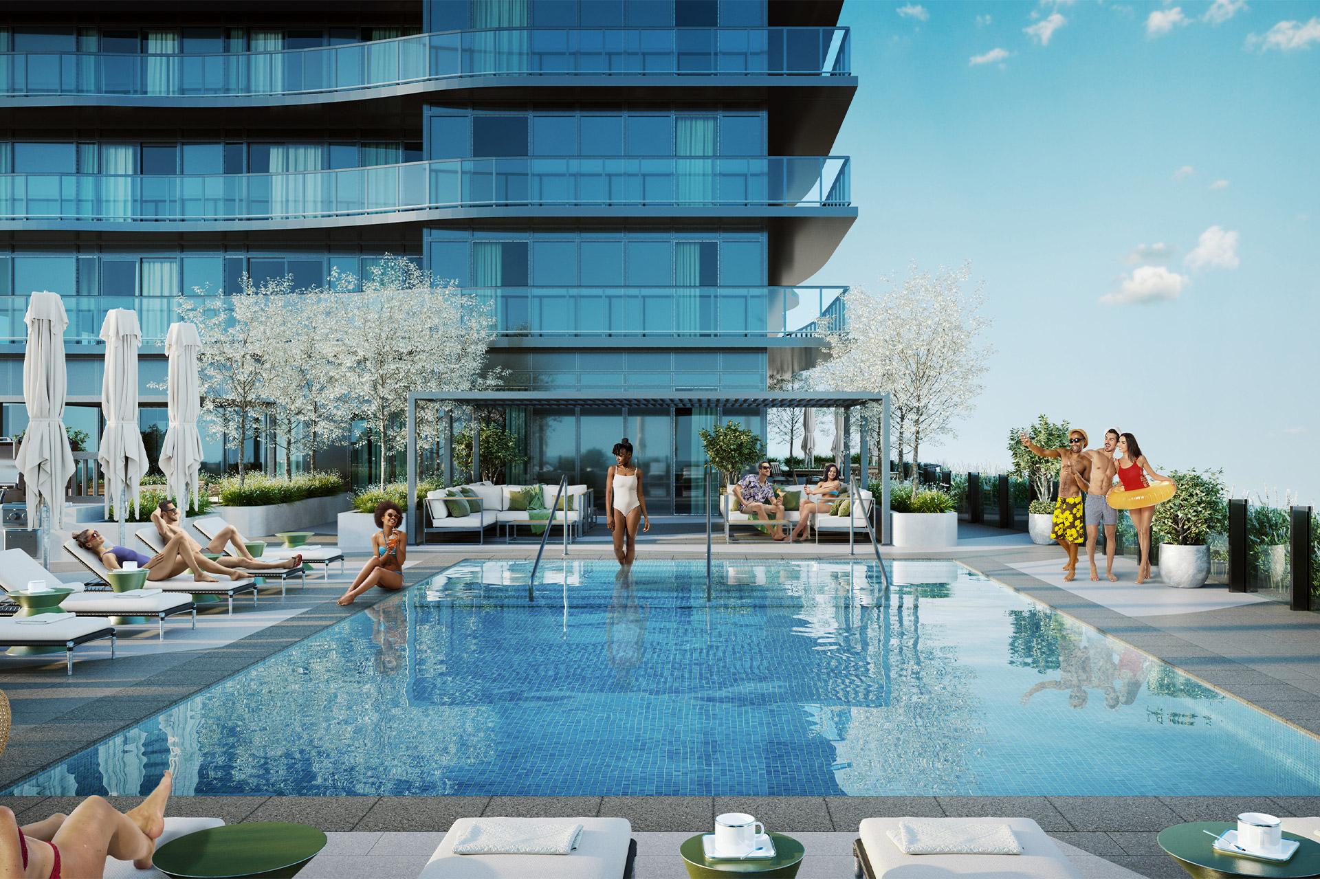 UCE Pool Terrace