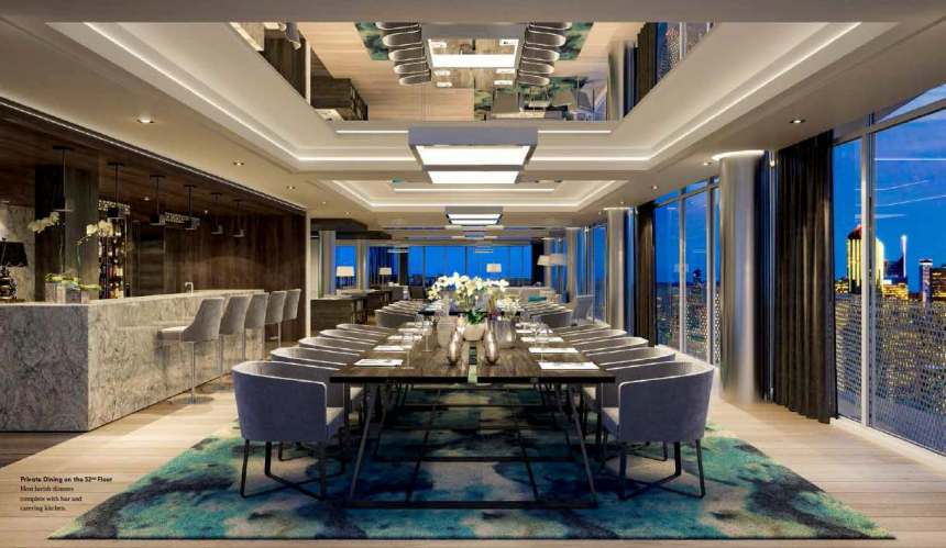 Social-Condos-Private-Dining-Room-52nd-Floor