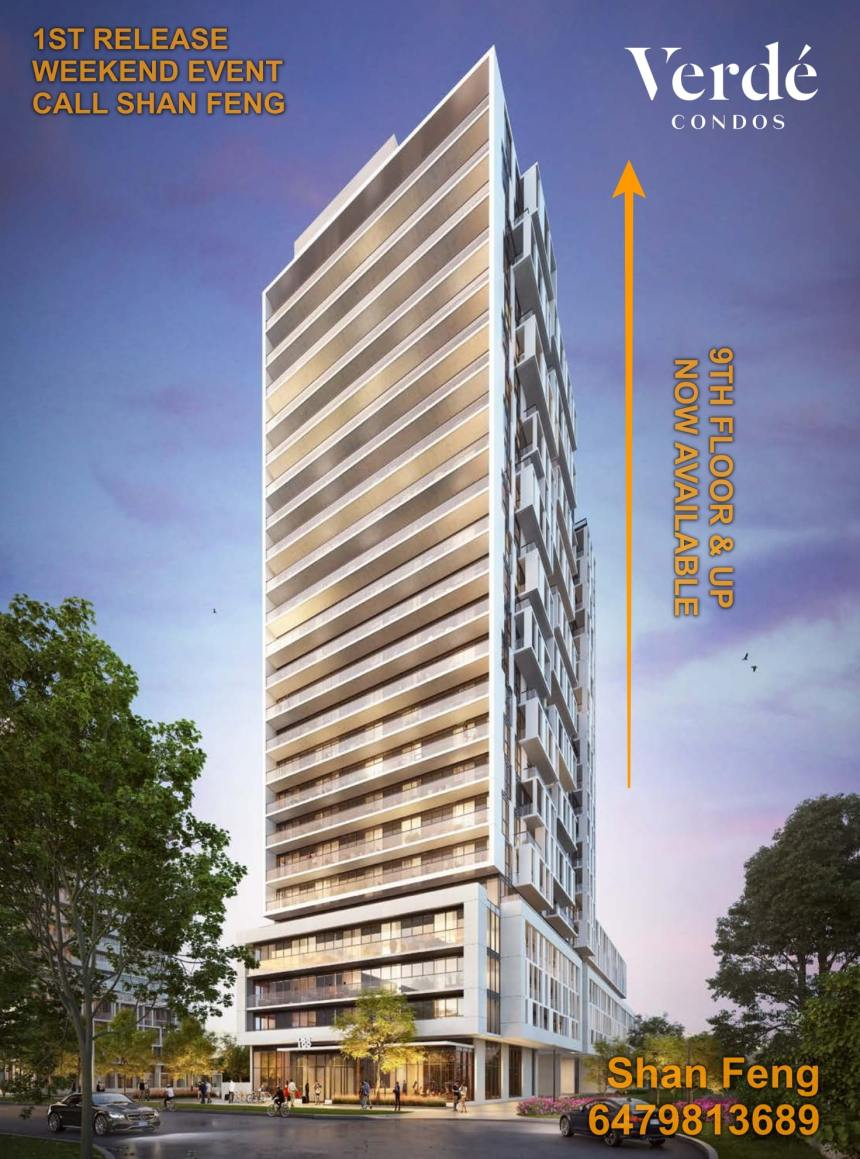 Verde Condos - Tower | Fairview Mall, Don Mills Subway Station.