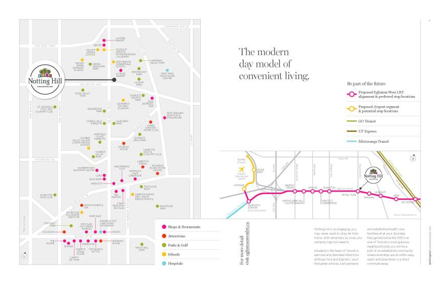 Notting Hill Road Map