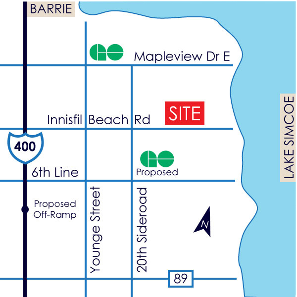 Clearwater Condos_map