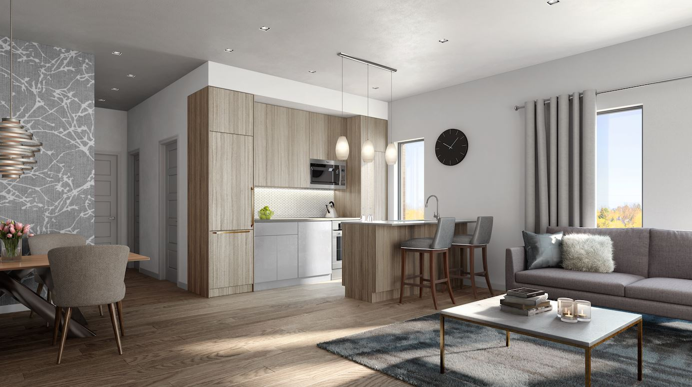4hundred East Mall Town Homes interior