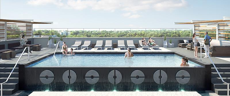 Vita On the Lake Condos pool