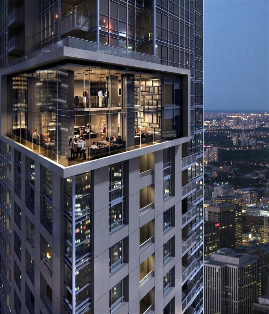 88 Scott Condos building