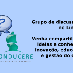 Converse conosco sobre educação corporativa, gestão do conhecimento e inovação