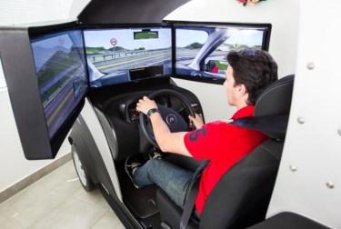 Utilizando-se de simulações para obtenção da carteira de motorista.