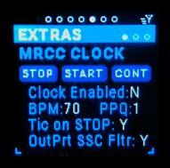 MRCC Clock Page