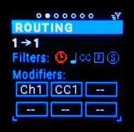MIDI Clock Filter Icon