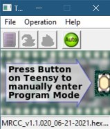 Teensy Loader Screen