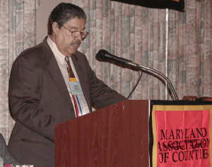 2001 MACo President Marvin F Wilson - conference