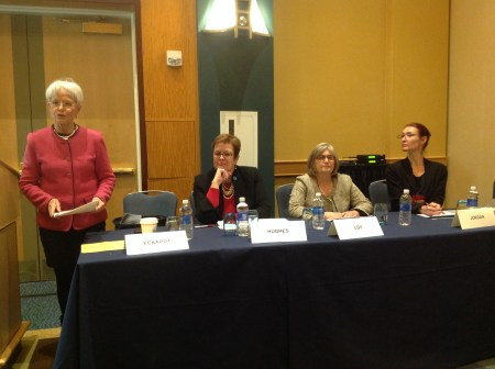 From left to right: Senator-elect Addie Eckardt, Michele Hughes, Ellyn Loy, Lisae Jordan