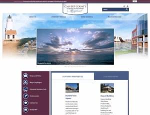 Ecalvert.com Calvert County's new economic development website