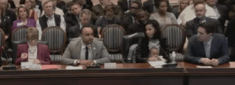 Baltimore City Council Members Clarke, Burnett, Sneed, and Dorsey testify against HB 317