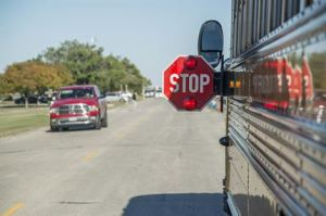 Fewer Drivers Stopping for School Bus Stop Arms