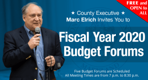 MoCo Provides 5 Opportunities for Community Feedback on FY20 Budget