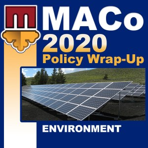 2020 End of Session Wrap-Up: Environment