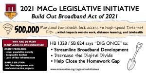 MACo Broadband Initiative Bill on the Move