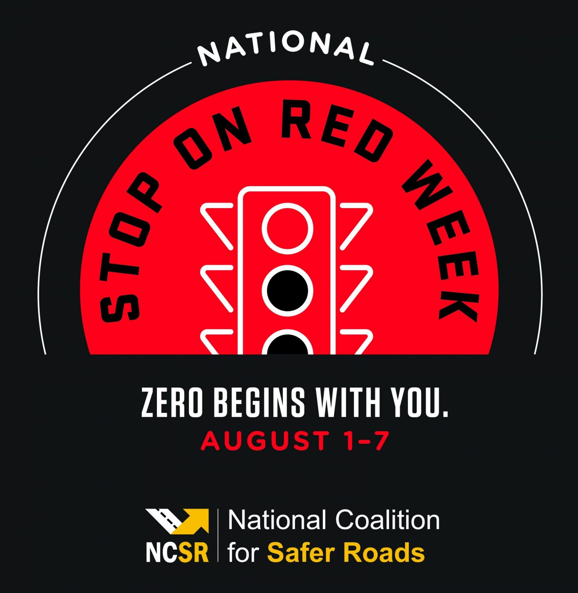 Counties Encouraged to Participate in National #StopOnRed2021 Week to Promote Road Safety