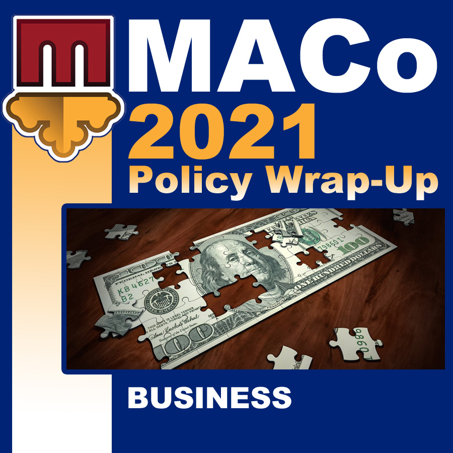 2021 End of Session Wrap-Up: Business Affairs