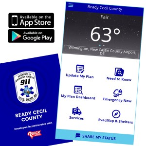 "Cecil Dept of Emergency Services Launches ""Ready Cecil"" App"