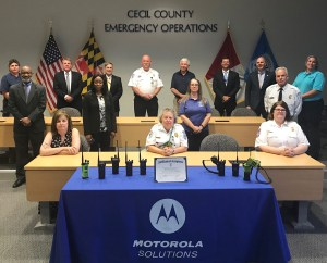 Cecil Bolsters Emergency Communications for First Responders