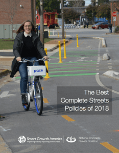 """Baltimore Among Nationwide """"Complete Streets"""" Leaders"""