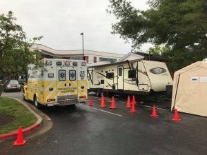 Calvert Opens Emergency Vehicle Decontamination Site