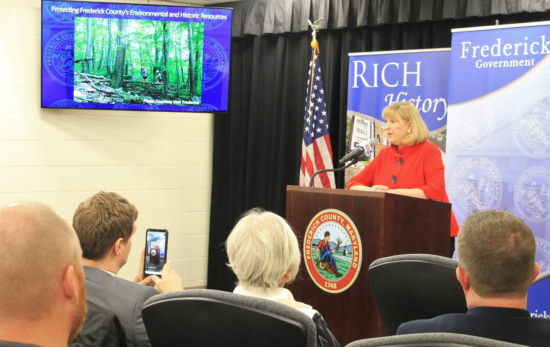 Frederick Unveils Initiatives to Protect Forest Cover, Environmental, Historic Resources