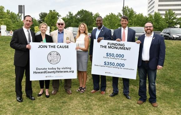 Howard Unveils Plans for Historic Veterans Monument