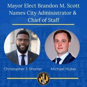 Mayor-Elect Scott Names City Administrator, Chief of Staff