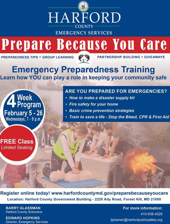 Harford Emergency Classes