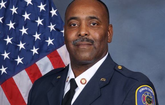 Louis Winston Selected as Howard's New Chief of Fire and Rescue