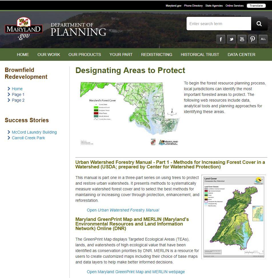 Have Questions About Forests or Trees? Get Answers at MDP's New Forest Planning Resource Webpage