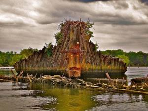 """Charles County's """"Ghost Fleet"""" Now a National Marine Sanctuary"""