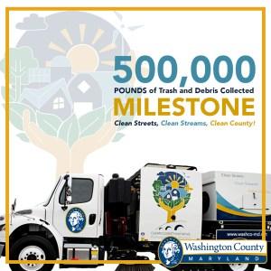 Washington County's Clean Street Sweeper Program Hits Major Milestone