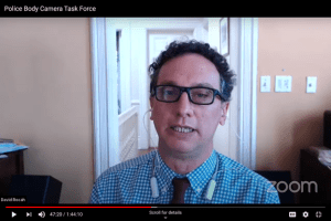 Body Camera Taskforce Meeting Focuses on Transparency and Access of Footage Under MPIA