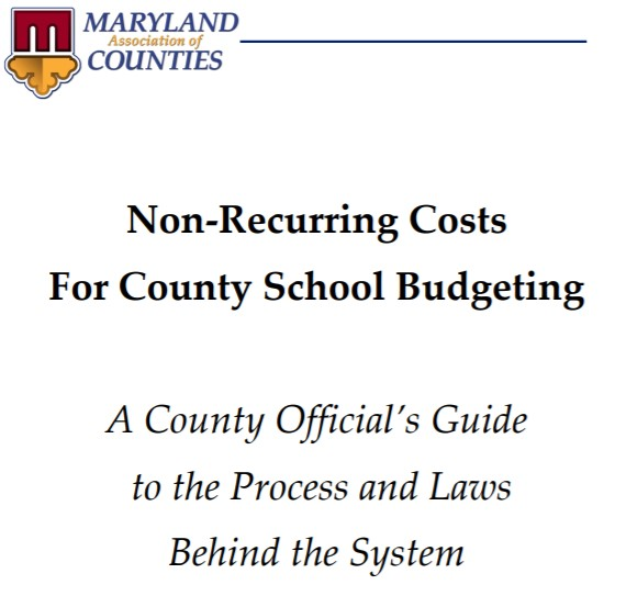 Non-Recurring School Cost Entries Are Due March 31