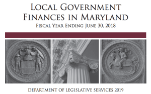 New Report Details Local Government Finances in Maryland
