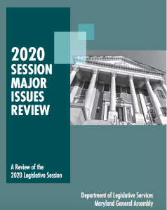 Major Issues and More: Report Reviews 2020 Legislative Session