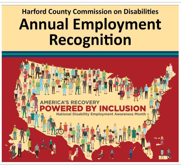 Nominations Now Open for Harford County Disabilities Commission's 2021 Employment Recognition Awards