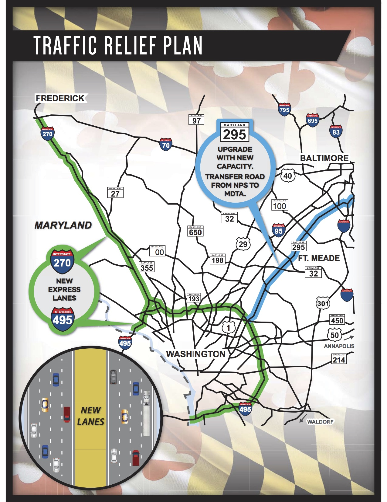 MDOT Sees Project Crunch if I-270 Private Funding Lost