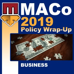 2019 End of Session Wrap-Up: Business Affairs