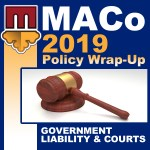 2019 End of Session Wrap-Up: Government Liability & Courts