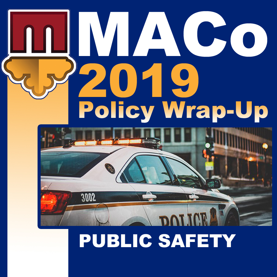 2019 End of Session Wrap-Up: Public Safety and Corrections
