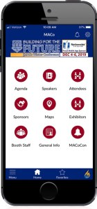 1 Way to Navigate #MACoCon – Download the FREE Mobile App!