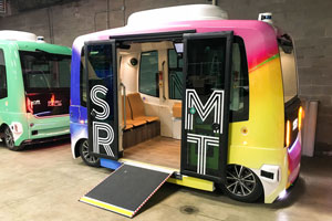 Self-Driving Mass Transit has Arrived