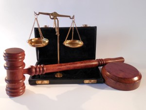 law - gavel and scale