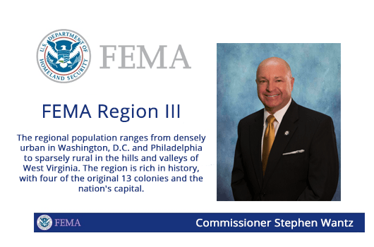 Wantz to Serve on FEMA Regional Advisory Council