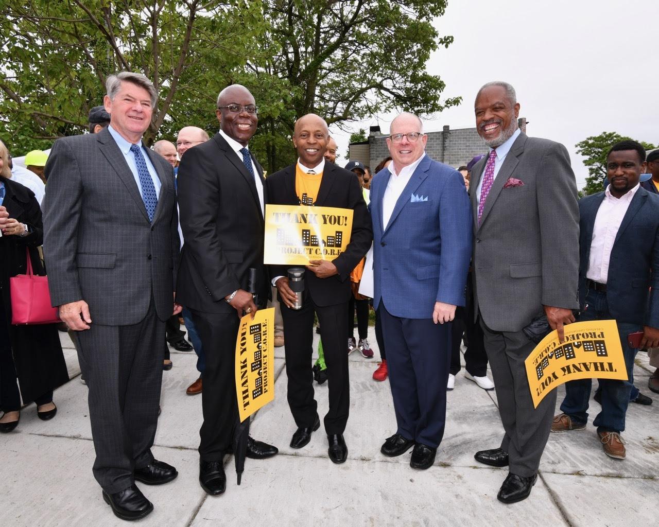 Project C.O.R.E. Marks Major Milestone in City's Fight Against Blight