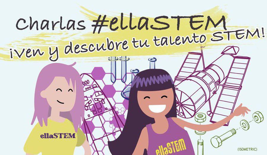 #ellaSTEM: fomentando las vocaciones científico-tecnológicas en las chicas